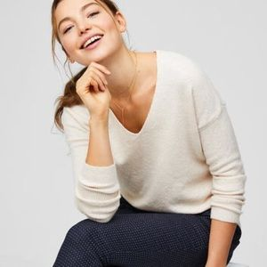 Loft cream sweater